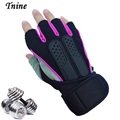 Best Price Fashion Gloves Mittens Anti skid Exercise Weight Lifting Bodybuilding Gloves Fitness for Men Women