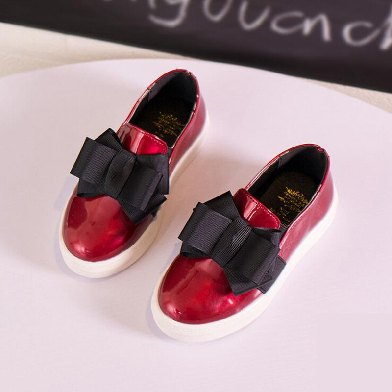 spring children shoes girls princess dress shoes kids cute bow-knot girls loafers fashion bright pu leather shoes girls flats<br><br>Aliexpress