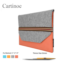 Buy Macbook Tablet Ipad 11 13 15 Inch Portable Laptop Liner Sleeve Woolen Felt Business Briefcase Fashion Unisex Laptop Bag for $22.10 in AliExpress store