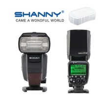 Buy SHANNY SN600C-RF Build-in 2.4G Wireless Radio TTL Slave Flash HSS 1/8000s Canon DSLR for $125.00 in AliExpress store