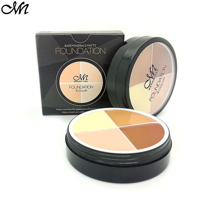 4 Colors Brand Contour Palette Makeup Face Concealer Cream Long Lasting Waterproof Camouflage Concealer Palette Cosmetics(China (Mainland))