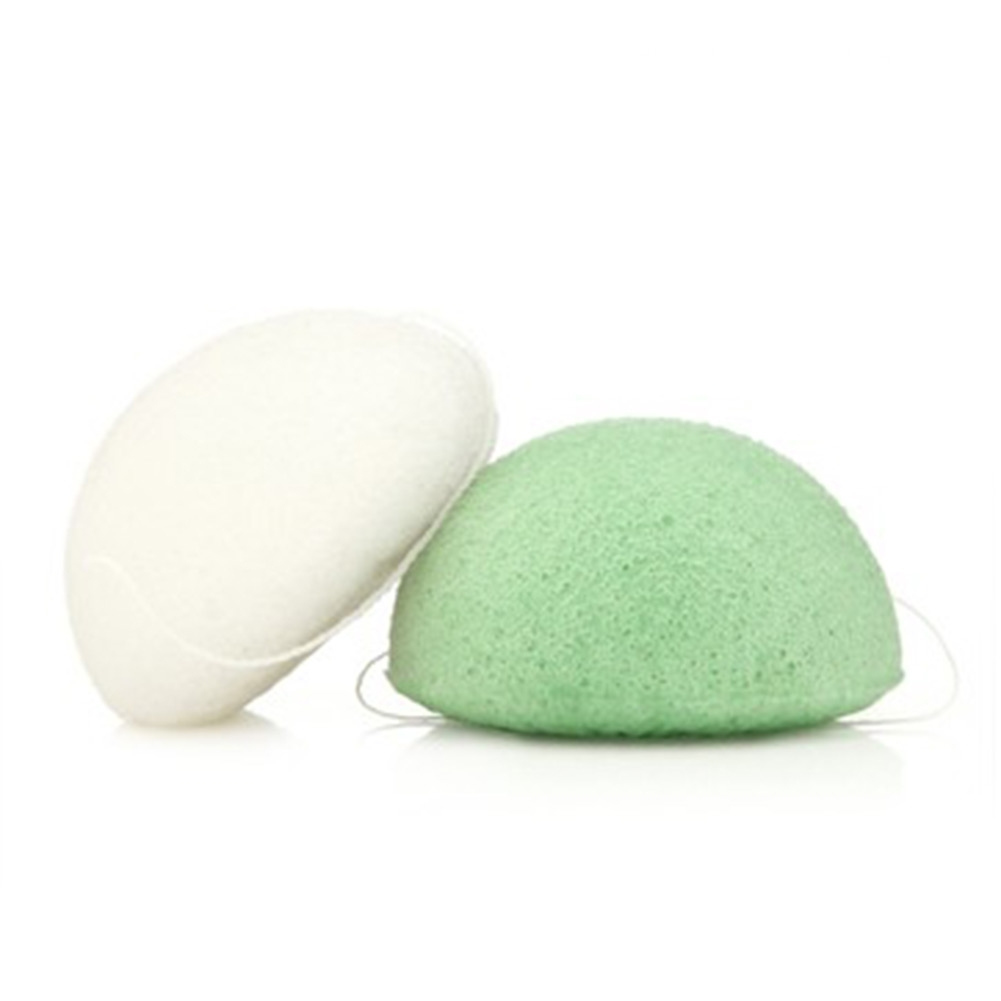 Natural Konjac Konnyaku Face Deep Cleaning Wash Pad Sponge Makeup Remover Puff Free shipping