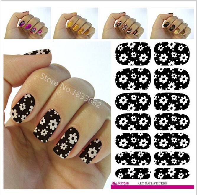 2016 Minx nail sticker the water adhesive foil nail art decorations a tool water decals 3d design nail sticker makeup(China (Mainland))
