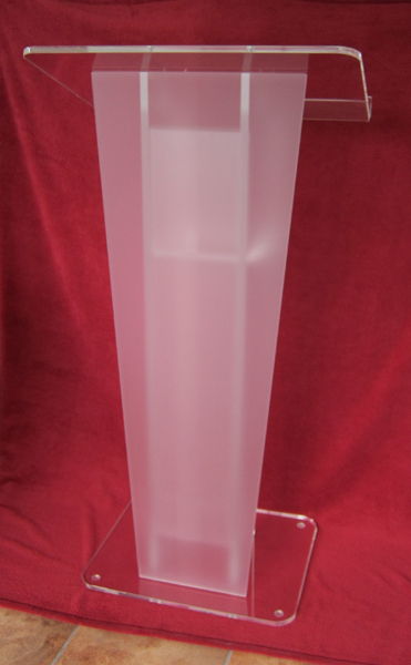 Clear Acrylic Frosted glass plate platform(China (Mainland))
