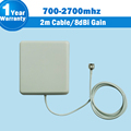 3G 700Mhz to 2700MHz 9dBi Gain GSM CDMA WCDMA UMTS Indoor Panel Antenna Internal Antenna For