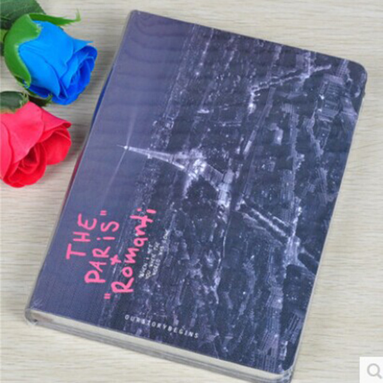 Korea Stationery early products now romantic series A5 hard copy hardcover notebook JZA5128-2324C
