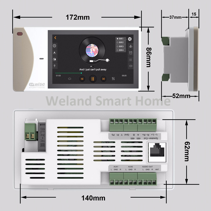 Aliexpress.com : Buy home audio video System,In wall ...