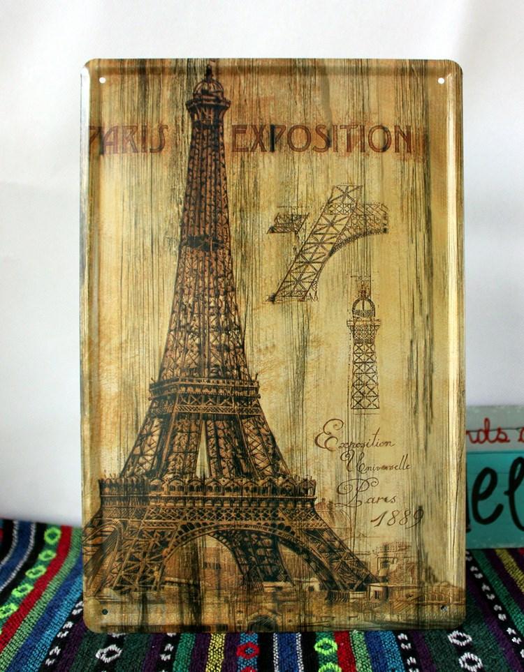 Eiffel Tower Wall Decor Metal: Wall art designs eiffel tower la ...