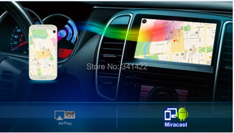 HOT MINI Mirrorlink Wifi Box Compatible Iphone Airplay Mirror & Android Miracast,Universal Car Audio AV-IN - Multimedia System store