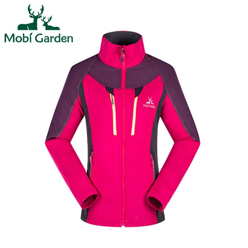 Mobi Garden Winter Sking Climbing Hunting Skidproof Keep Warm Fleece Jacket For Women Sport Jackets For CouplesZMB1311001 MWK087