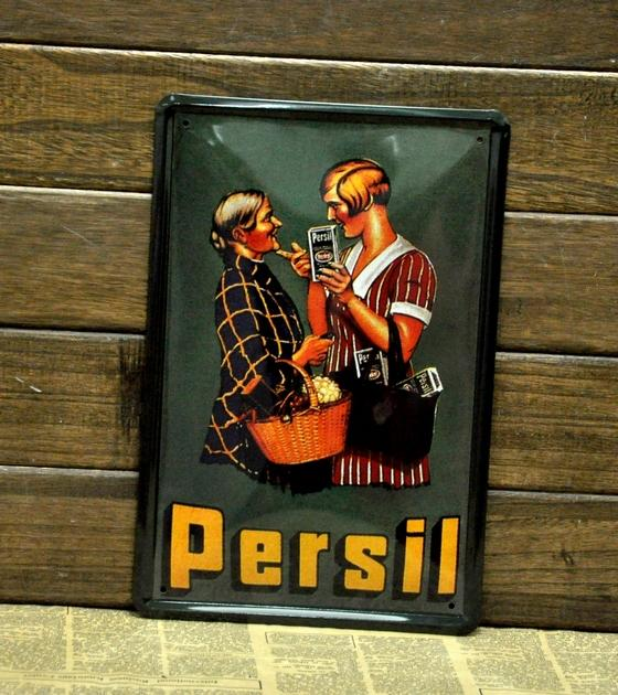 Christmas gift!!Persil Metal Tin Signs coffee painting Bar pub home Wall Decor Retro Metal Art Poster C-16