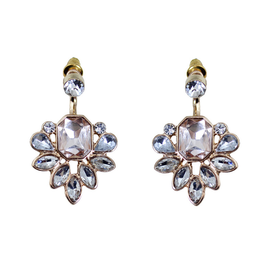 Europe and the United States jewelry wholesale exaggerated personality aspect ShanZuan drop earrings(China (Mainland))