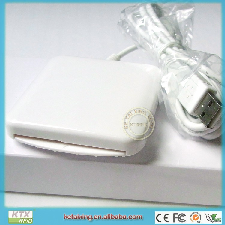 EMV Chip Card Reader Writer ACR38U_IPC USB Support CAC&PIV&CPU cards(China (Mainland))
