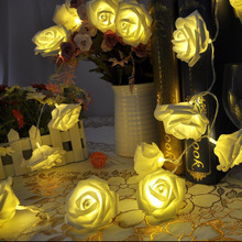 20 x LED Rose Flower Fairy String Lights