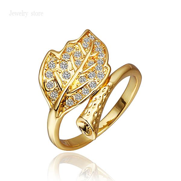 pscr342 high quality new fashion jewelry 18k gold ring for