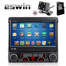 1 Din Autoradio Car MP3 Player In-Dash Car Stereo Audio FM Radio Player Receiver Aux Input WMA WAV with SD/USB Port Free Camera(China (Mainland))