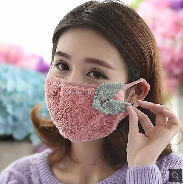 game DHL !Korean fashion winter warm thick dust masks breathable - Shenzhen Eucon Co.,LTD store