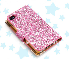 4 s / 4 new super beautiful female mobile phone protection shell case Free normal delivery