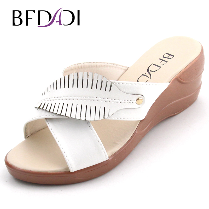 Big Size 37-42 Summer Style Women Wedges Sandals 2016 Casual Ladies Platform Sandals Open Toe Women Shoes 3 Colors 8809(China (Mainland))