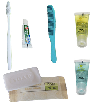 Premium Hotel Bathroom Disposable Products, toothbrush, toothpaste, comb, shampoo, shower gel, soap(China (Mainland))