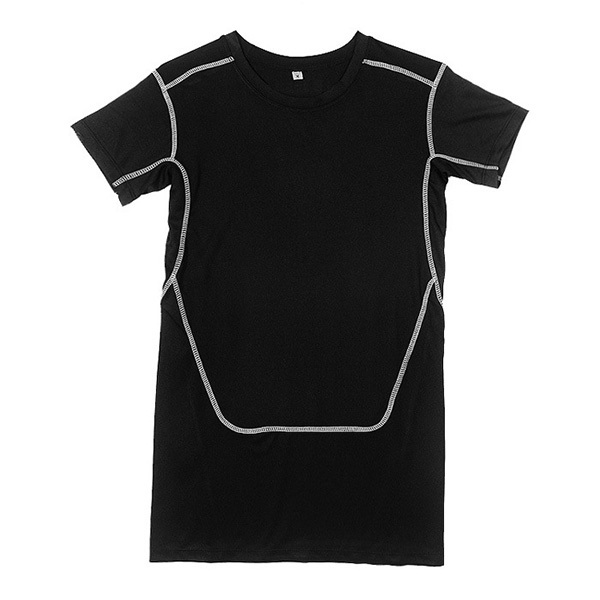 Men Compression T-shirt Base Layer Tops Shirt Tight Short Sleeve Sports Gear Collection(China (Mainland))