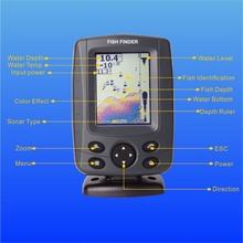 "Phiradar FF688C 3.5"" Color LCD Boat Fish Finder 200KHz/83KHz Dual Sonar Frequency 300M Detection Muti-language Auto zoom(China (Mainland))"