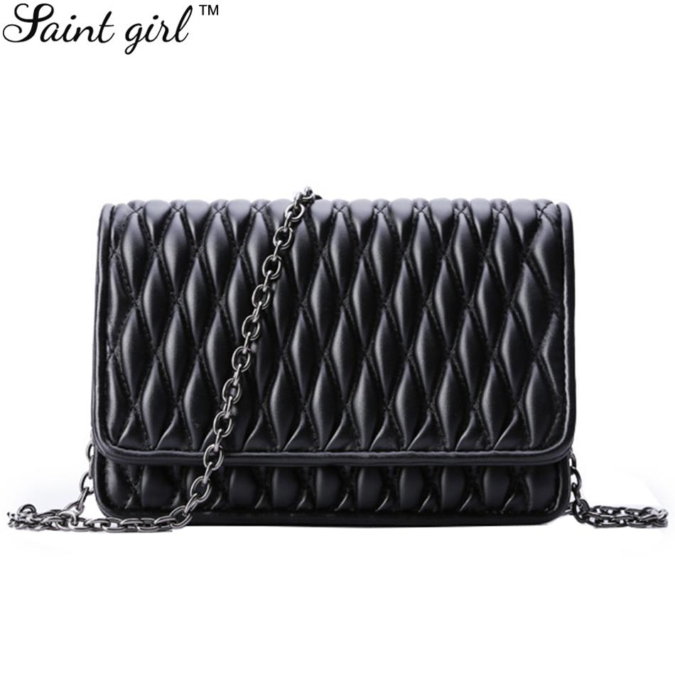 Saint Girl PU Messenger Bags 2015 Hot Fashion Women Shoulder Bag Small Crossbody Handbag For All Occasion SNS087