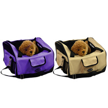 Hot Pet Gog Puppy Car Seat Travel Bag Portable Carrier Crate Safe Cage House New(China (Mainland))