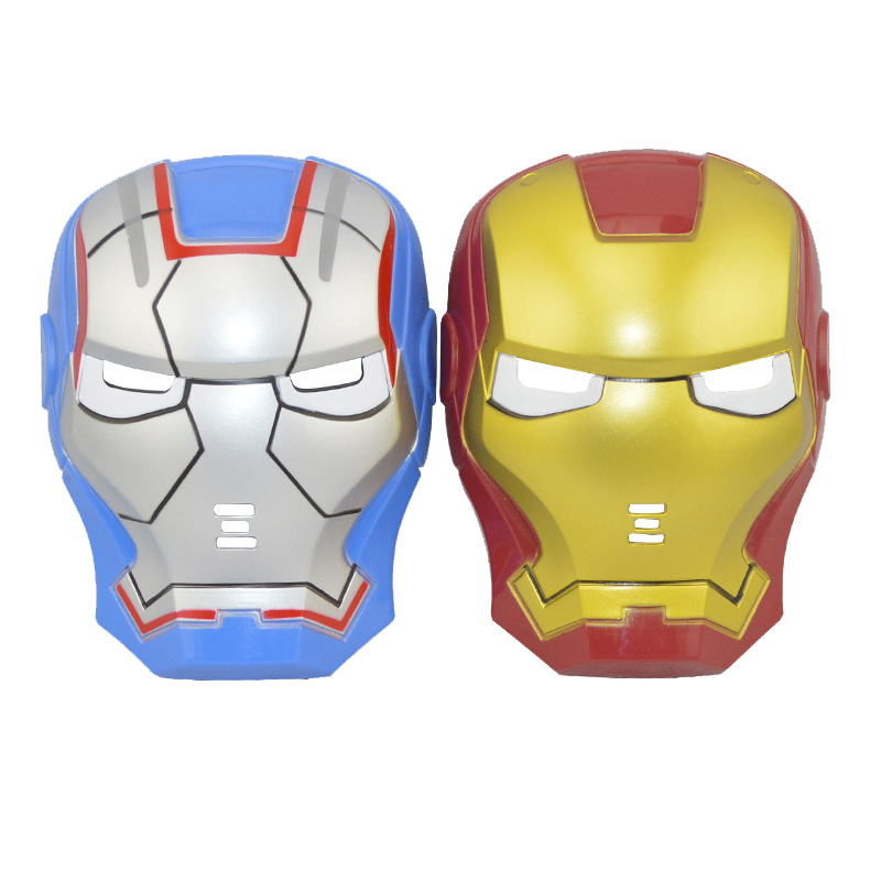 iron man mask LED helmet LIGHT UP cosplay Masks toys For Kids Adults Party Halloween Birthday(China (Mainland))