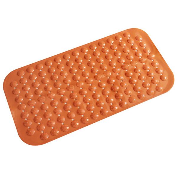 Aqua Suction Grip Rubber Bath Mat with Cosy Bubble Foot Grip Bathroom Supplies Cobblestone Anti-Slip Bath Mat(China (Mainland))