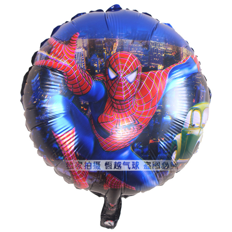 Free shipping18inch spiderman foil balloon party decoration foil balloon mylar balloon mix designs(China (Mainland))