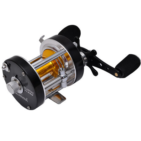 Tsurinoya seasoul tl500 left hand baitcasting fishing reel for Left handed fishing reels