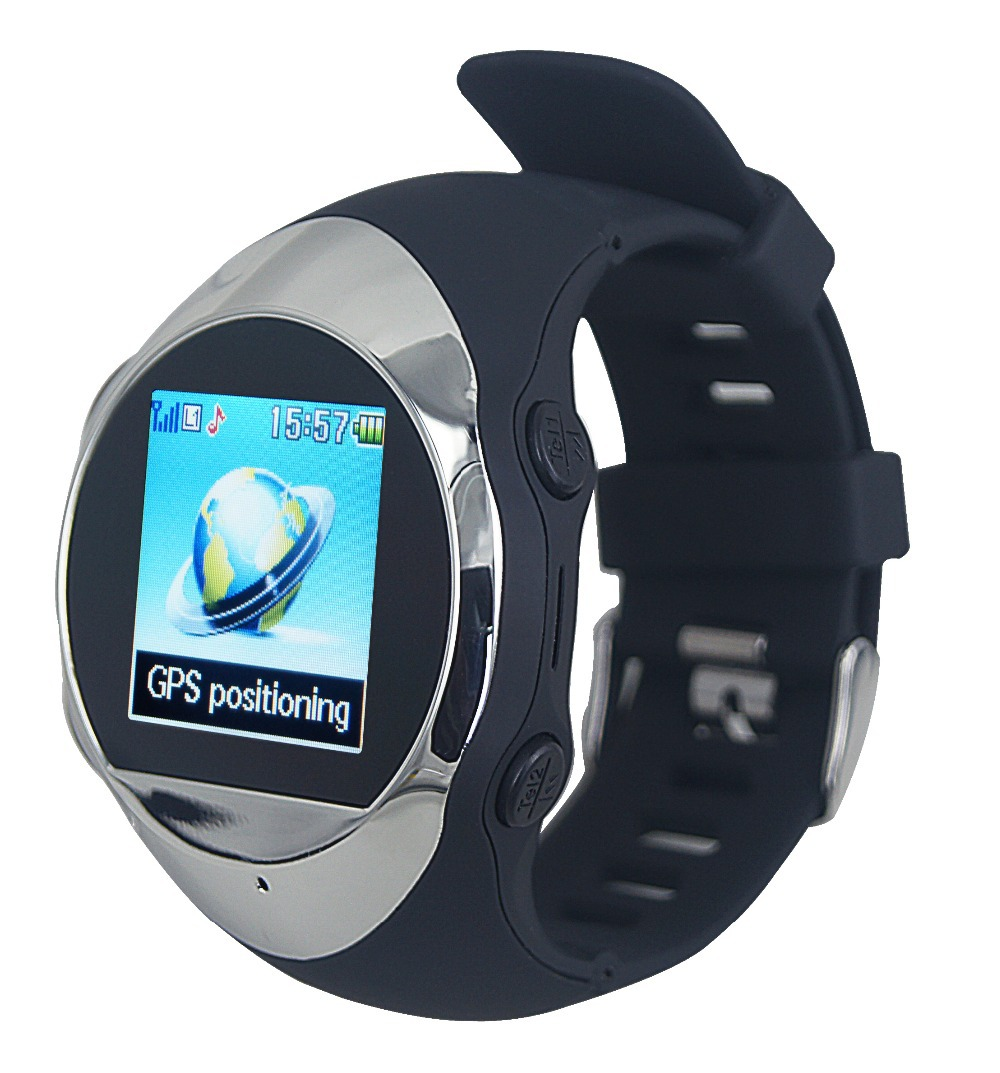 2015 phone function smart watch SOS Watch GPS Watch Phone Position Online Smart Tracking Watch(China (Mainland))