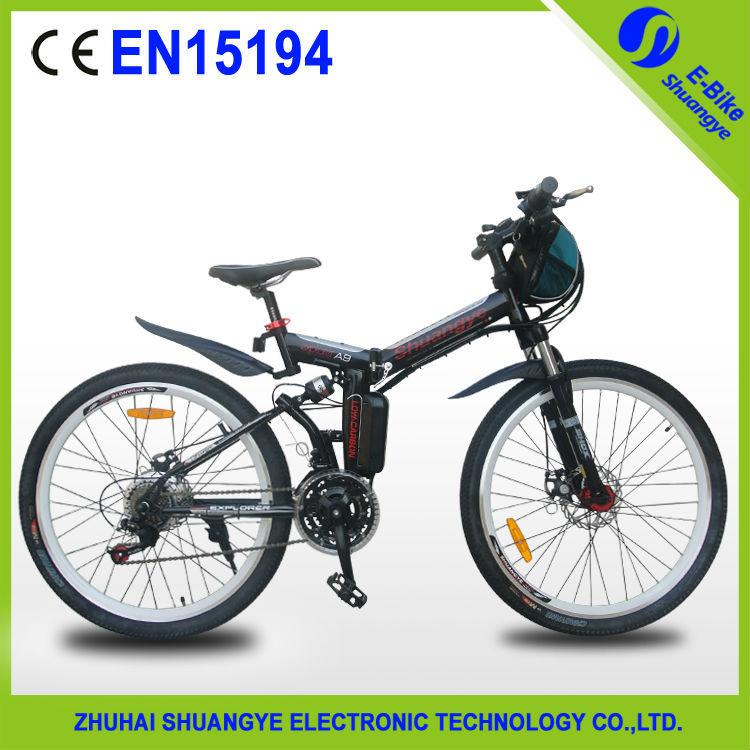 "36v 250w 26"" Folding Electric Bikes/710USD only(China (Mainland))"