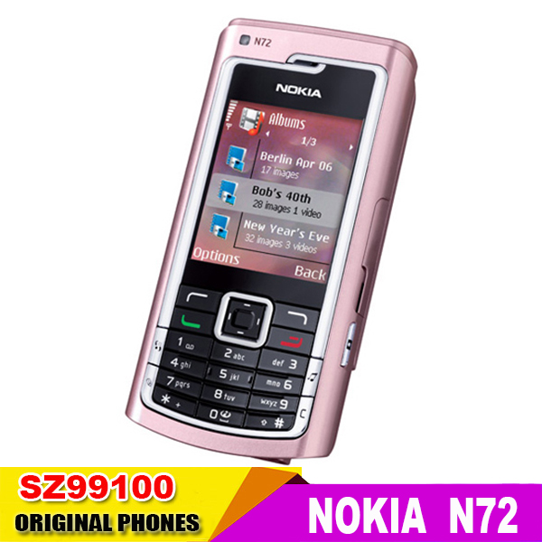 Nokia N72 Mobile Phones Bluetooth Jave FM Radio 2MP(China (Mainland))