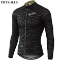 Phtxolue Winter Thermal Fleece Cycling Jersey Warm 2016 Pro Mtb Long Sleeve Men Bike Wear Clothing