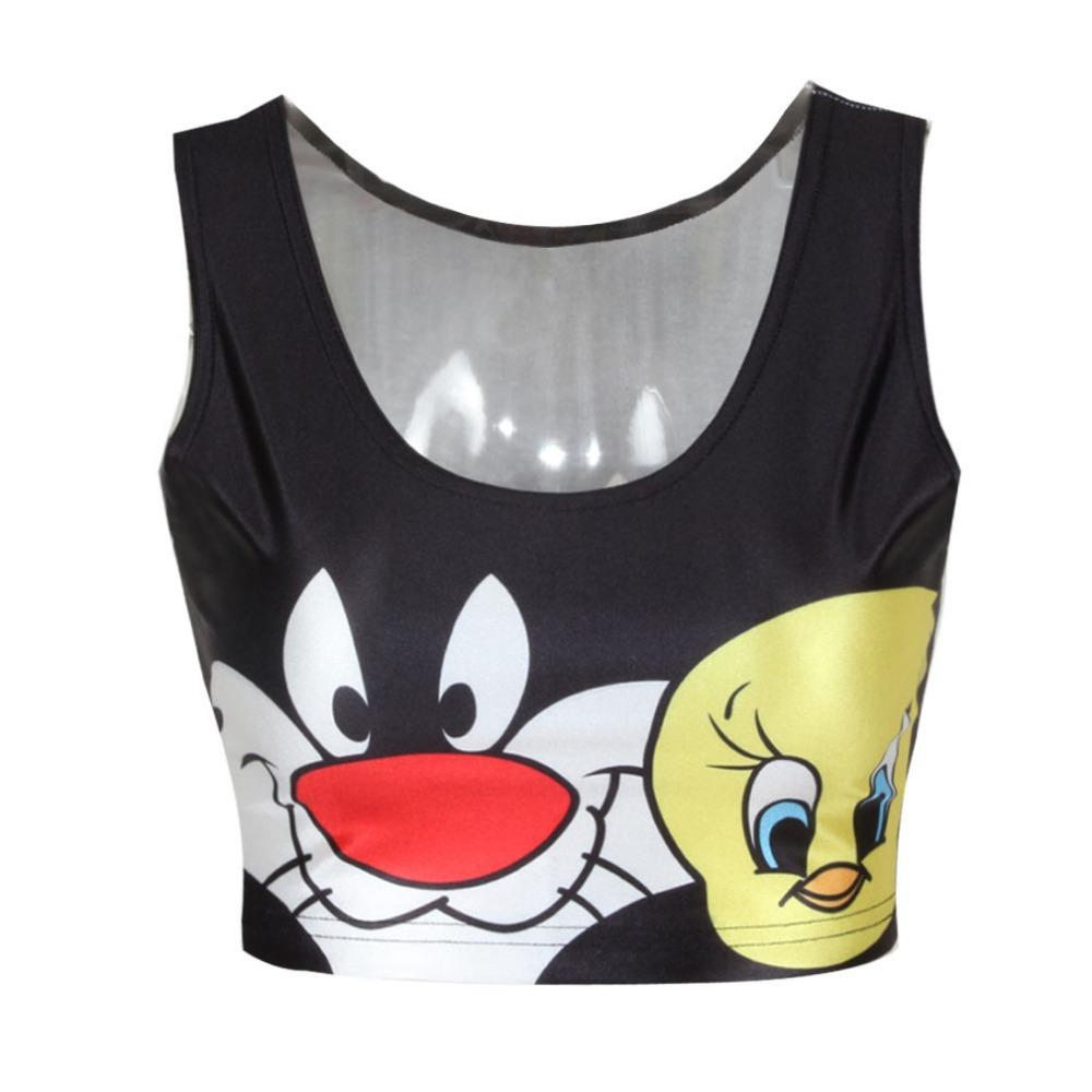Achetez en gros sylvester et tweety en ligne des for La fitness t shirt