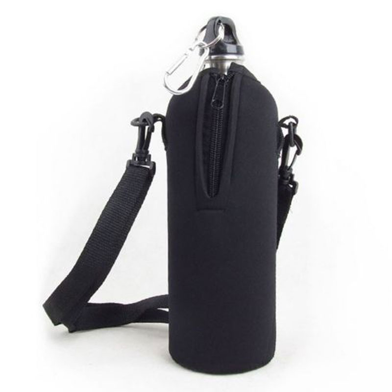 2016 New Arrival Outdoor 750ML Water Bottle Carrier Insulated Cover Bag Holder Strap Pouch(China (Mainland))