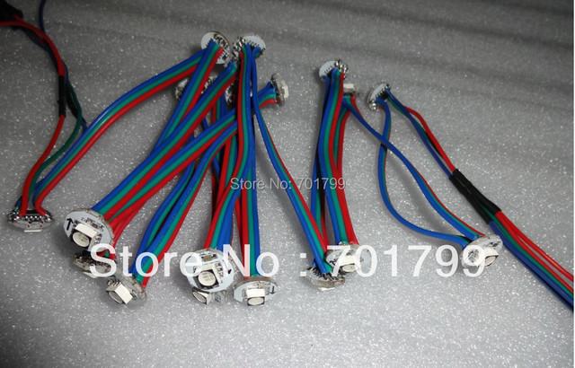 NON-WATERPROOF DC5V WS2811 led 5050 SMD pixel node;50pcs a string