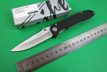 Envío gratis mango tierra SANRENMU cuchillo plegable de acero GB902 G10 440C 56HRC lámina que acampaba herramienta táctica cuchillos de caza herramientas