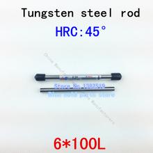 6mm diameter tungsten steel rod can grind into any required tools tungsten bar carbide tungsten burs
