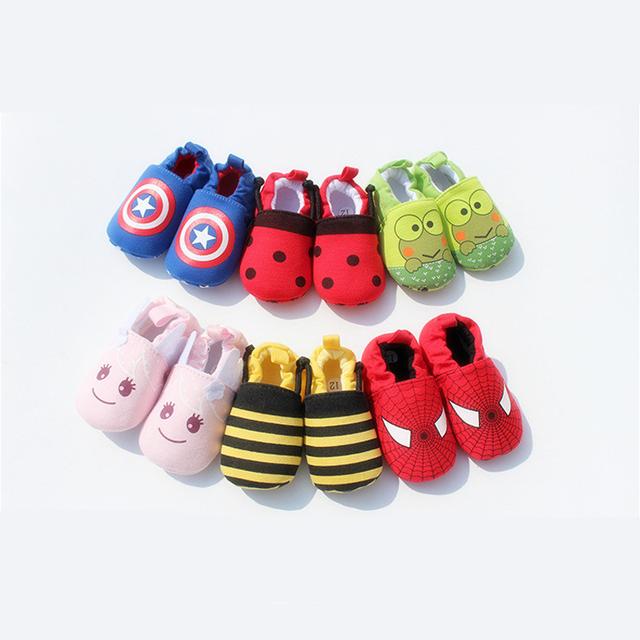 Симпатичные новинка новорожденных мальчиков детская обувь зима мягкая хлопка первый ...
