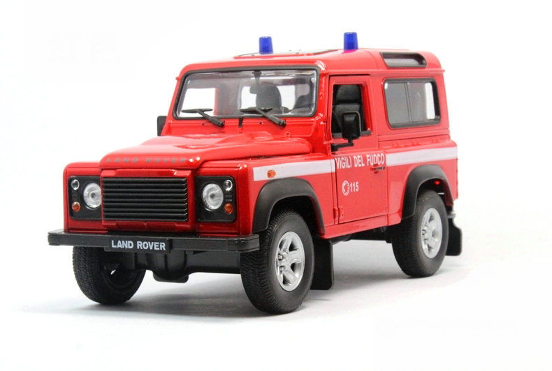 Welly 1:24 Defender police car suv alloy metal model car toy collection(China (Mainland))