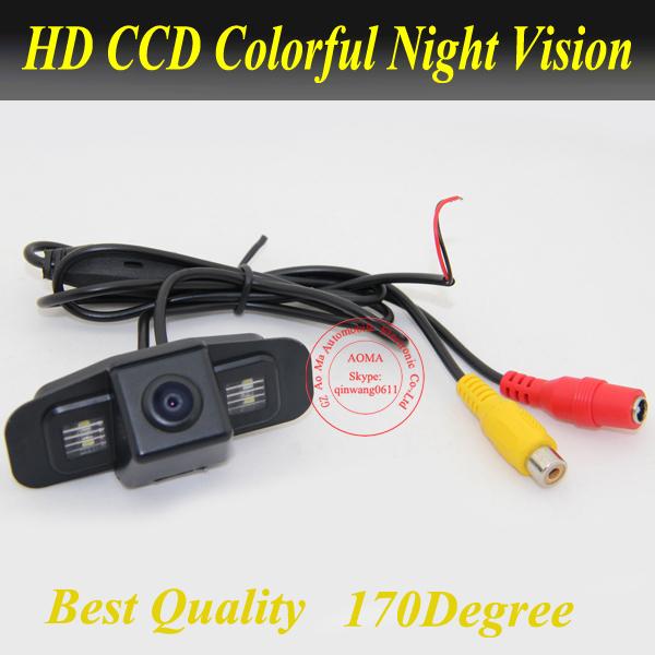 New car backup rear camera for Honda Spirior CCD car back up parking camera high quality night vision waterproo(China (Mainland))