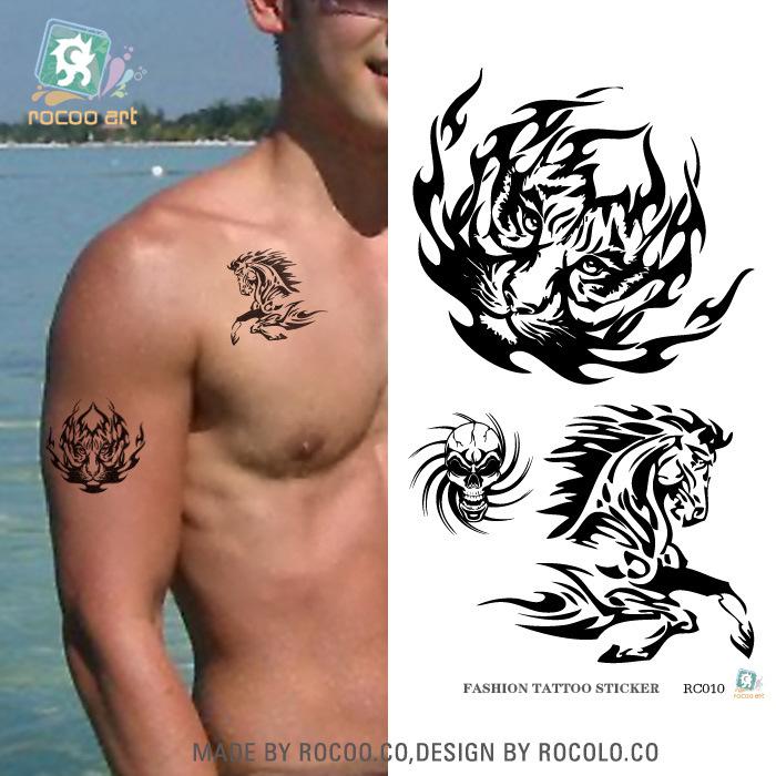 Tiger Horse Tattoo Tiger Horse Arm Tatouage
