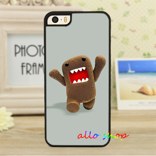 domo kun cell phone case cover for iphone 4 4s 5 5s 5c SE 6 6s & 6 plus 6s plus domo Z464(China (Mainland))