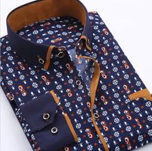 Men Casual Shirts Fashion Men's Long Sleeve Dot Slim Fit Shirts High Quality Shirts Camisas social masculinas-Free Shipping(China (Mainland))