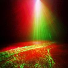 New 250mW 9 CH DMX 512 RG Laser DPSS 3 3W RGB LED Aurora Background Effect