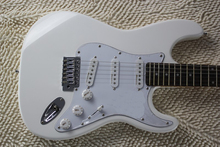 New High Quality  white body rosewood fretboard neck Strato caster Electric Guitar custom body guitar in stock(China (Mainland))