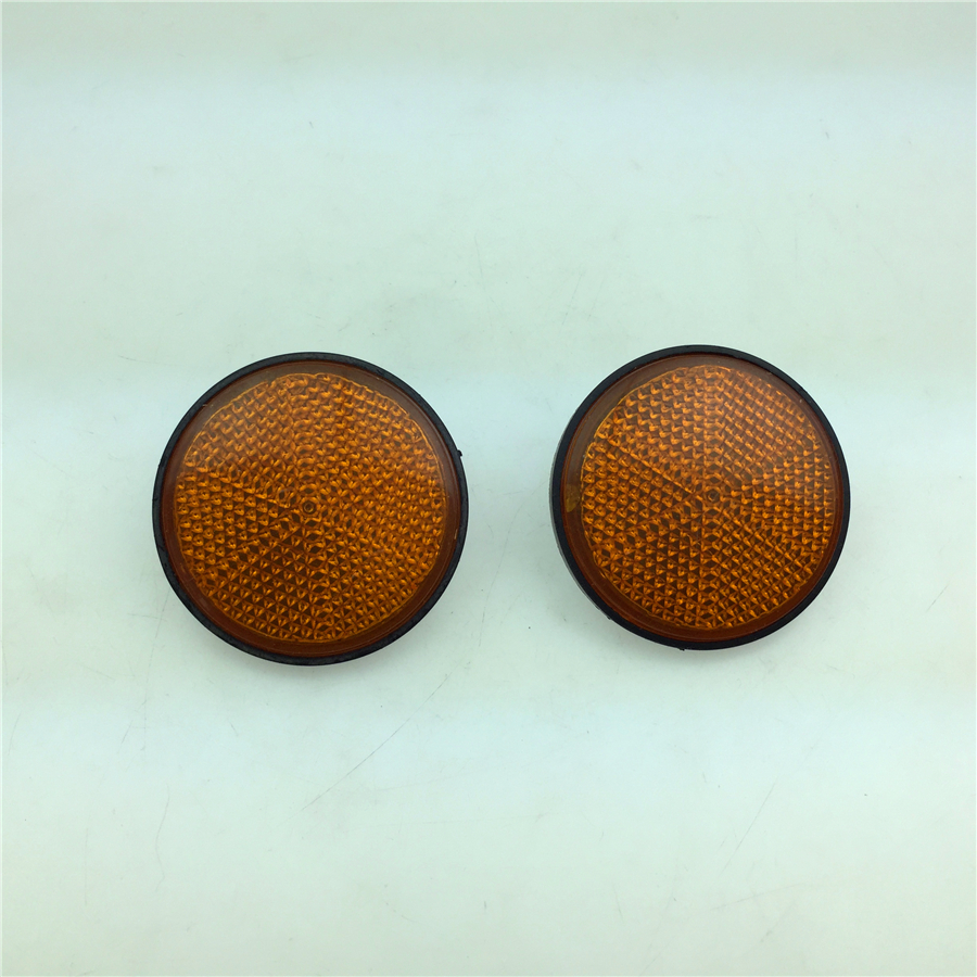 For Suzuki GS / GT GTX QS110 Motorcycle Parts FOR Reflector Free Shipping Yellow Round pair